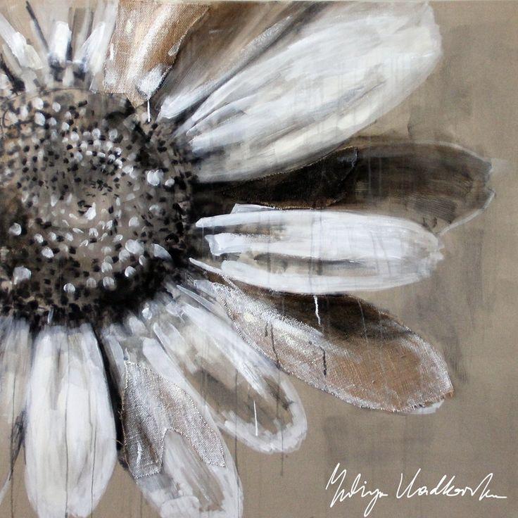 """Saatchi Art Artist: Yuliya Vladkovska; Acrylic 2013 Painting """"white sun"""""""