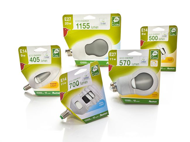 135 best light bulbs direct packaging images on pinterest - Auchan eco energie ...