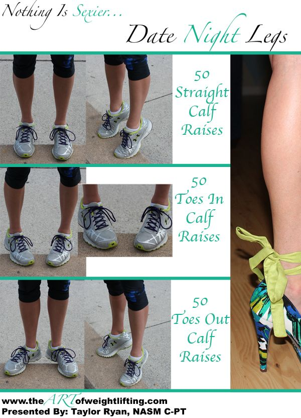 3 Exercises for more toned calves to look awesome in heels! super simple, but much harder than they look! Can you say BURN?!