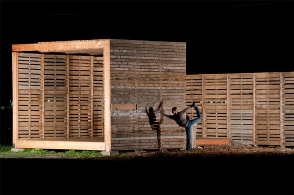 Sustainable Urban Farm Buildings by Shipping Pallets, Luxury House Design, House Design, Interior House Design