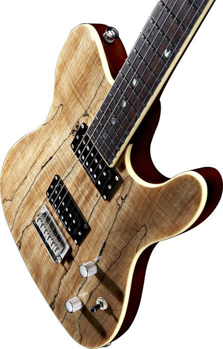 FenderSpecial Edition Custom Telecaster Spalted Maple - This makes me drool!