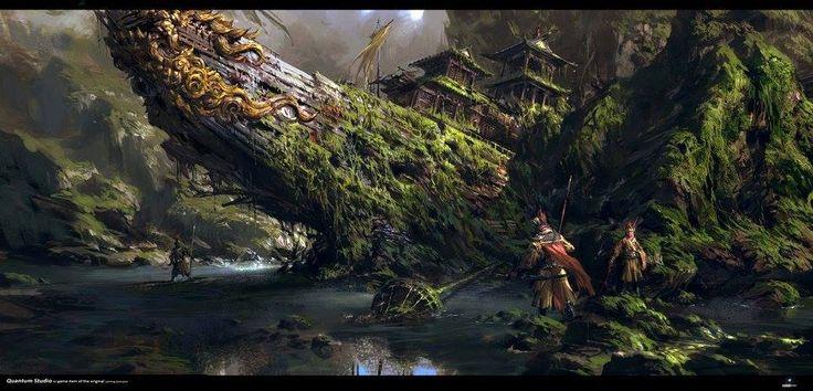 Asombrosas Pinturas Digitales de Yang Qi – China - Taringa!