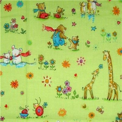 Children 39 s vintage fabrics a collection of ideas to try for Retro nursery fabric
