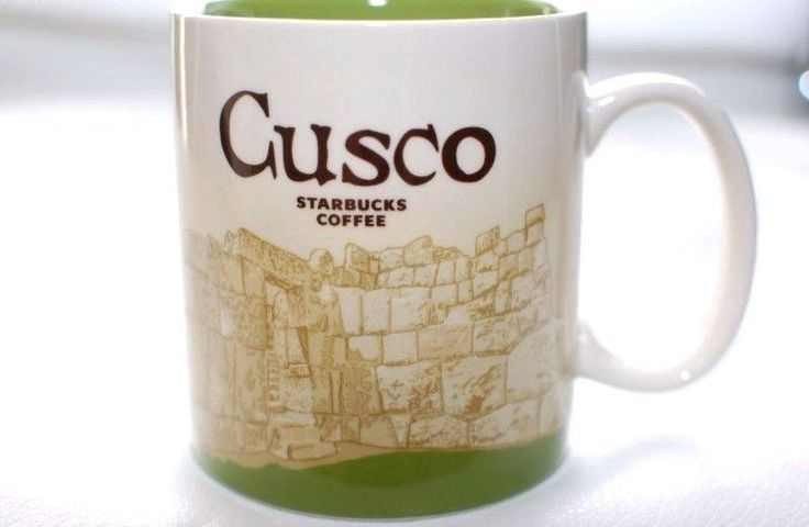 STARBUCKS CUSCO PERU RARE  MUG COLLECTOR Series NEW WITH TAG HARD TO FIND #Starbucks