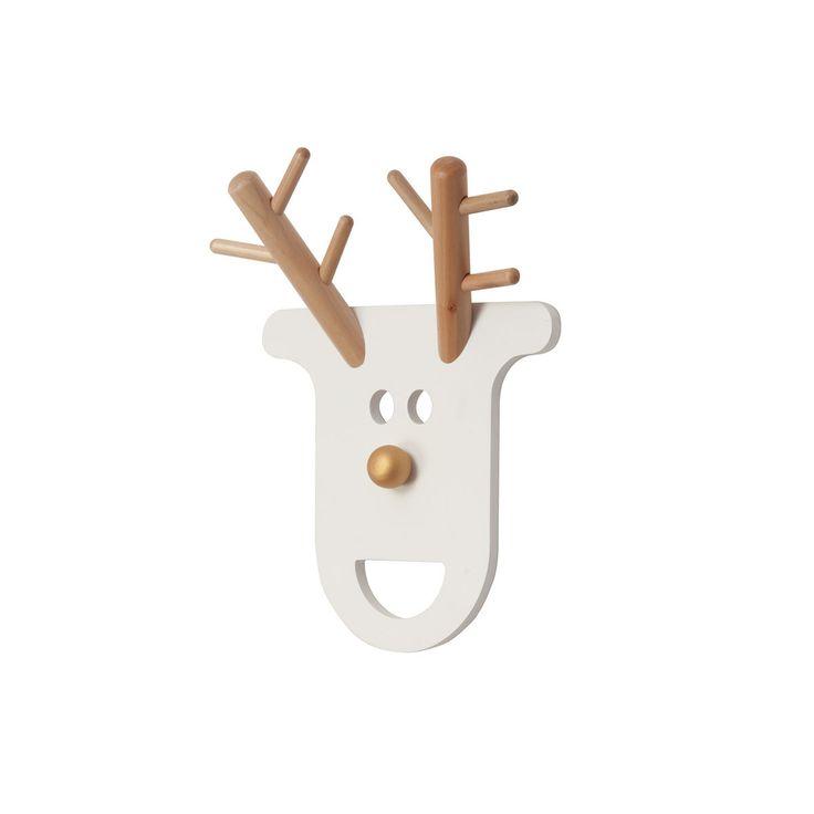 Porte Manteau Chambre Enfant #14: Porte-manteau Porte Manteau O Deer Blanc Porte Manteau O Deer Blanc