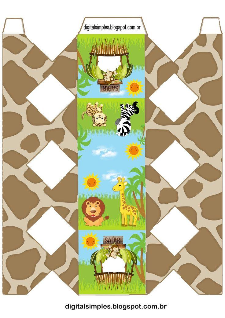 открытки в стиле сафари ли, летом, осенью