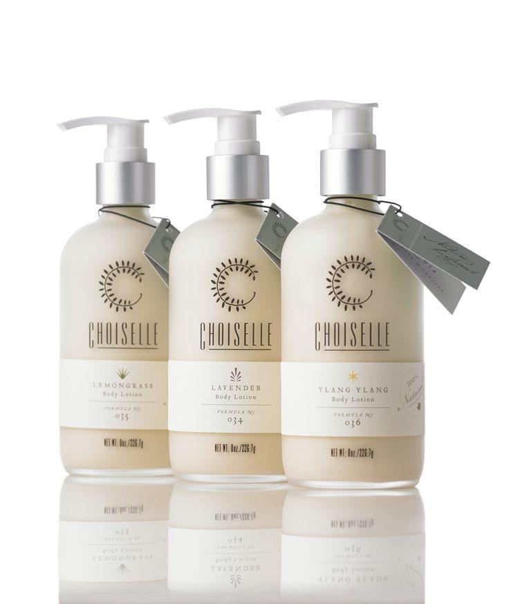 Artisanal all natural body lotion available in lavender, lemongrass & ylang ylang.