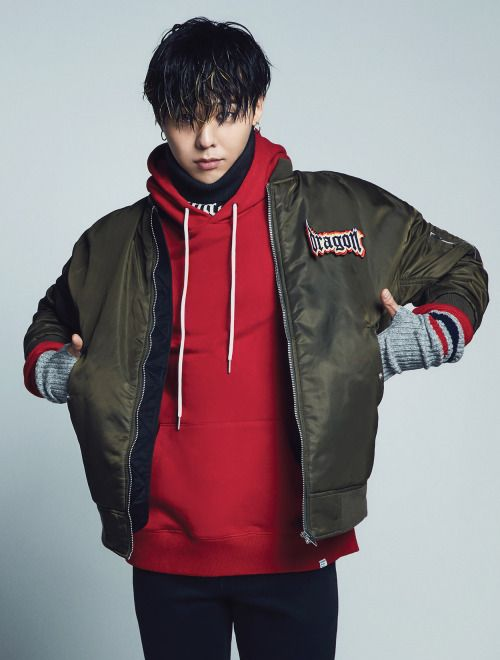 G-Dragon for 8 Seconds F/W 2016