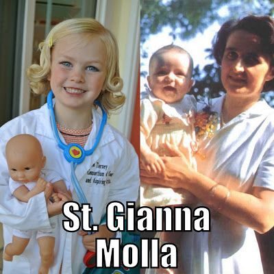 All Saints costume St. Gianna Molla from Catholic All Year