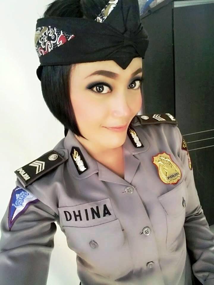 Brigadir Dhina Desiana Salah Satu Polwan Tangguh yang Dimiliki Polres Kuningan