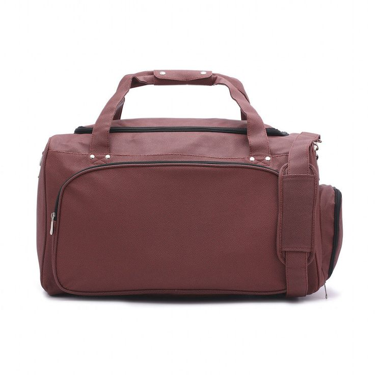 Sport Full Size Duffel Bag Actual Football Leather Separate Shoe Compartment #Zumer #DuffleBag