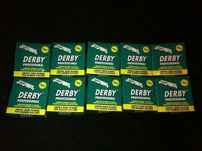 Mens Razors: 1000 Derby Professional Single Edge Razor Blades For Straight Razor New -> BUY IT NOW ONLY: $34.45 on eBay!