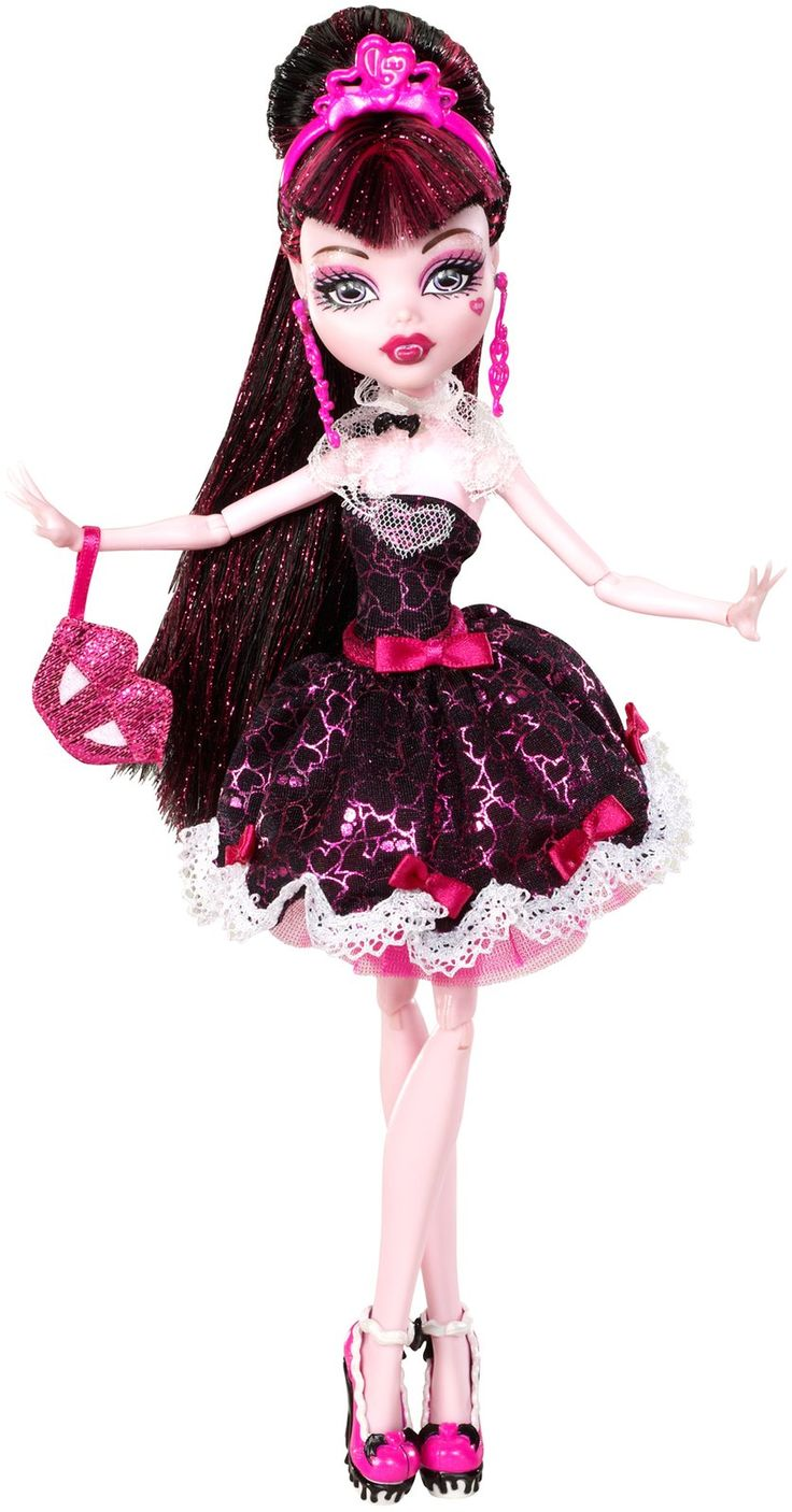 Monster high sweet 1600 doll collection draculaura is - Image monster high draculaura ...