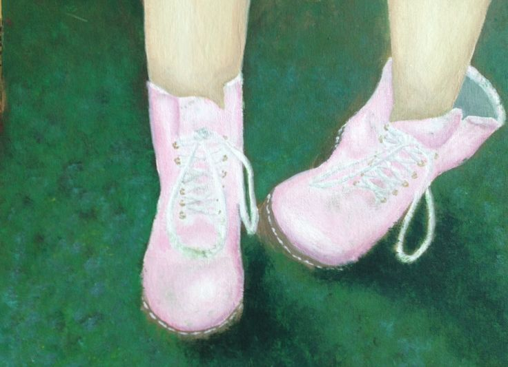 shoe expression paintings