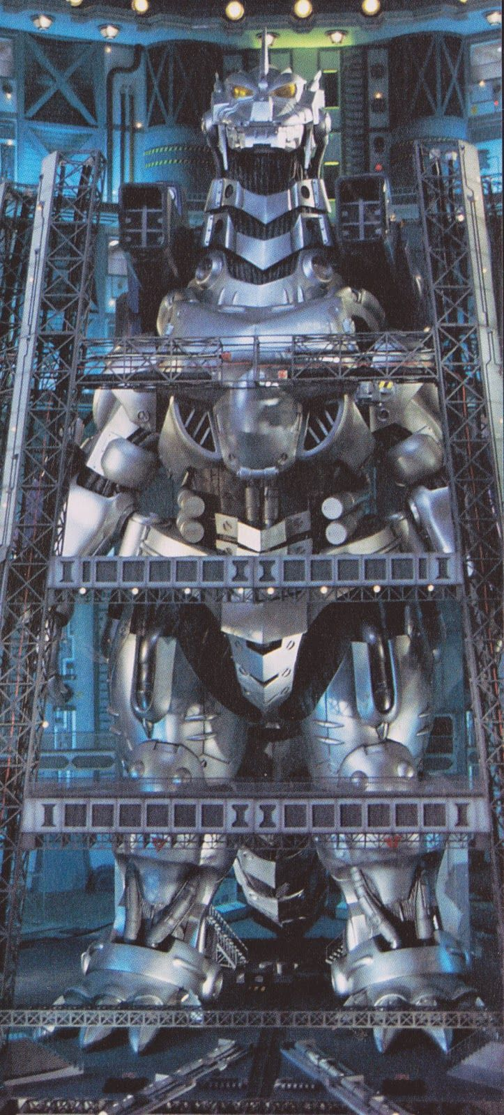Kiryu 2002, or Mechagodzilla (Godzilla x Mechagodzillan 2002 Toho)
