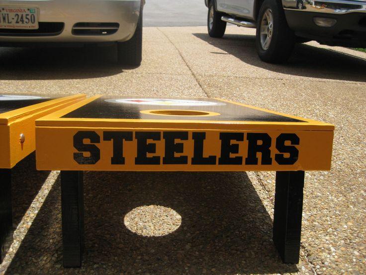 Steelers boards • Cornhole Players :: Cornhole Game Forum | Rules ...