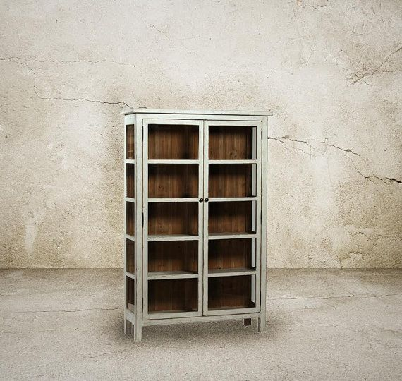Bookcase Bookshelves Reclaimed Wood Display by 3handsfurniture