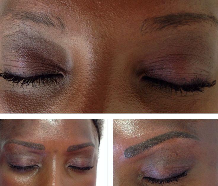 My work eyebrows