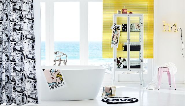 H&M - ideas for spring bathroom.