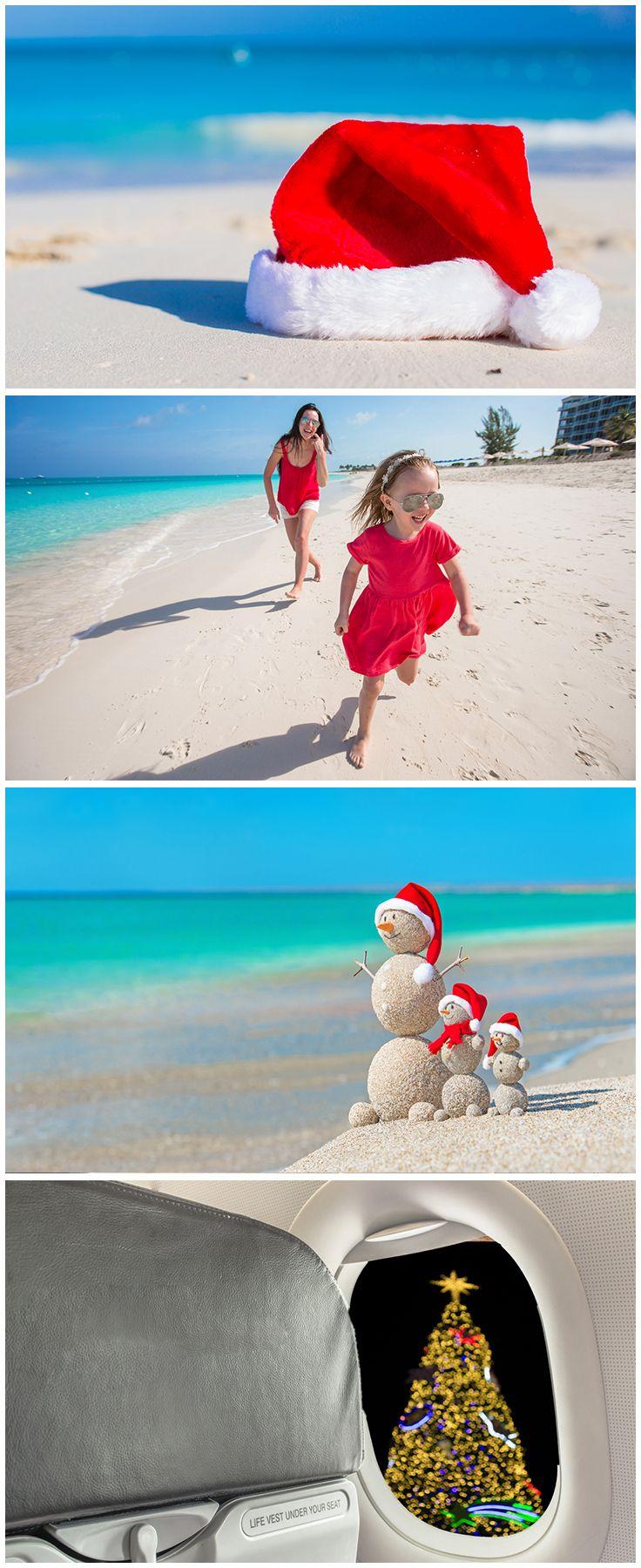 Auf geht's an den Strand, mit vielen günstigen Angeboten für Reisen über Weihnachten - Buche jetzt deinen Urlaub via Urlaubspiraten.de
