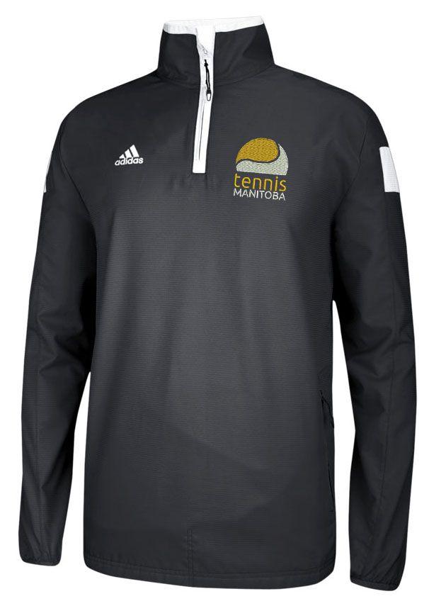 TMB adidas 1/4 Zip Jacket (Men's) Item # 20-111: $65