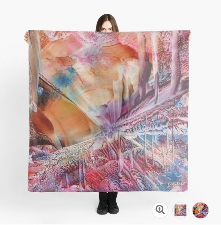 Inner Growth scarf