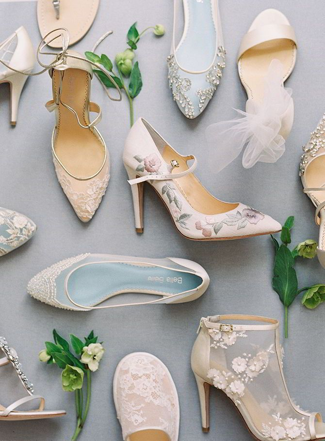 2acd40857798f Bella Belle 2017  Enchanted  Bridal Shoes Collection Sponsored ...