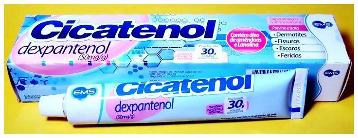 Cuidando da pele pomada Cicatenol mais potente e barata do que o Bepantol