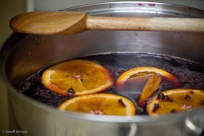 Glühwein. German mulled wine. This is a drink you don't want to leave out during the holidays!