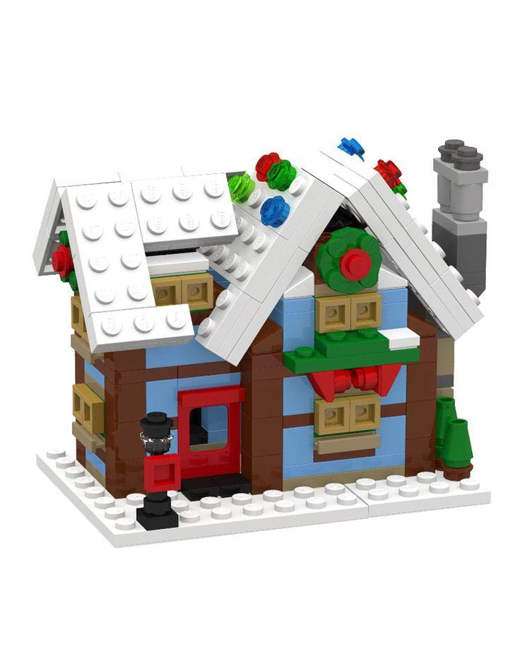 Lego Winter Village Cottage (10229) Mini Modular http://www.flickr.com/photos/130226489@N08/23627734496/