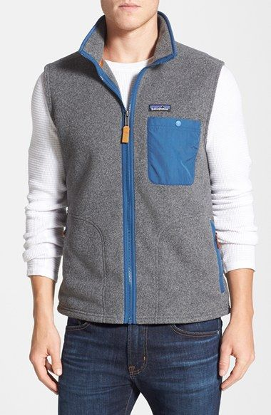 Men's Patagonia 'Karstens' Regular Fit Vest #patagoniafleece #patagonia #llbeanfleece At Eagleages.com we offer a great choice of Vintage Patagonia Fleece. We have also an Etsy Store https://www.etsy.com/shop/Eagleages?ref=hdr_shop_menu&section_id=18032612&pages=3