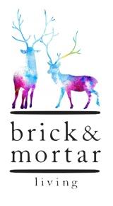 "Brick & Mortar Living ""Winter Deer"""