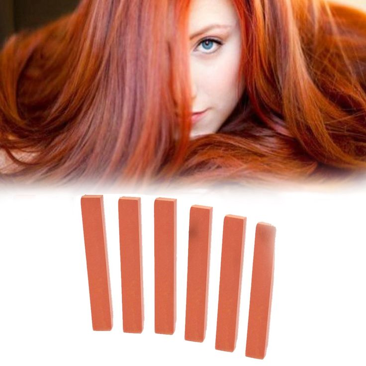 Dye your hair simple & easy to copper hair color - temporarily use copper hair dye to achieve brilliant results! DIY your hair copper with honey hair chalk