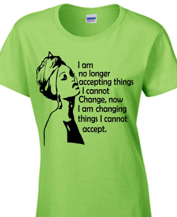 Change, Word Power, Afro Hair t-shirt, Natural Hair T-shirt, Women's Blouse, Women's Tops, Rasta T-shirt, Graphic T-shirt