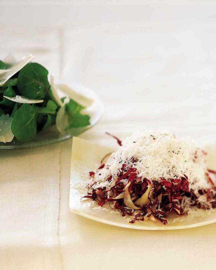 Shredded Radicchio with Parmigiano-Reggiano