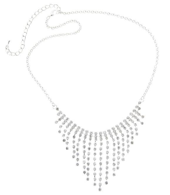 Multi Diamante V Drop ($19.99) from diva.net.au