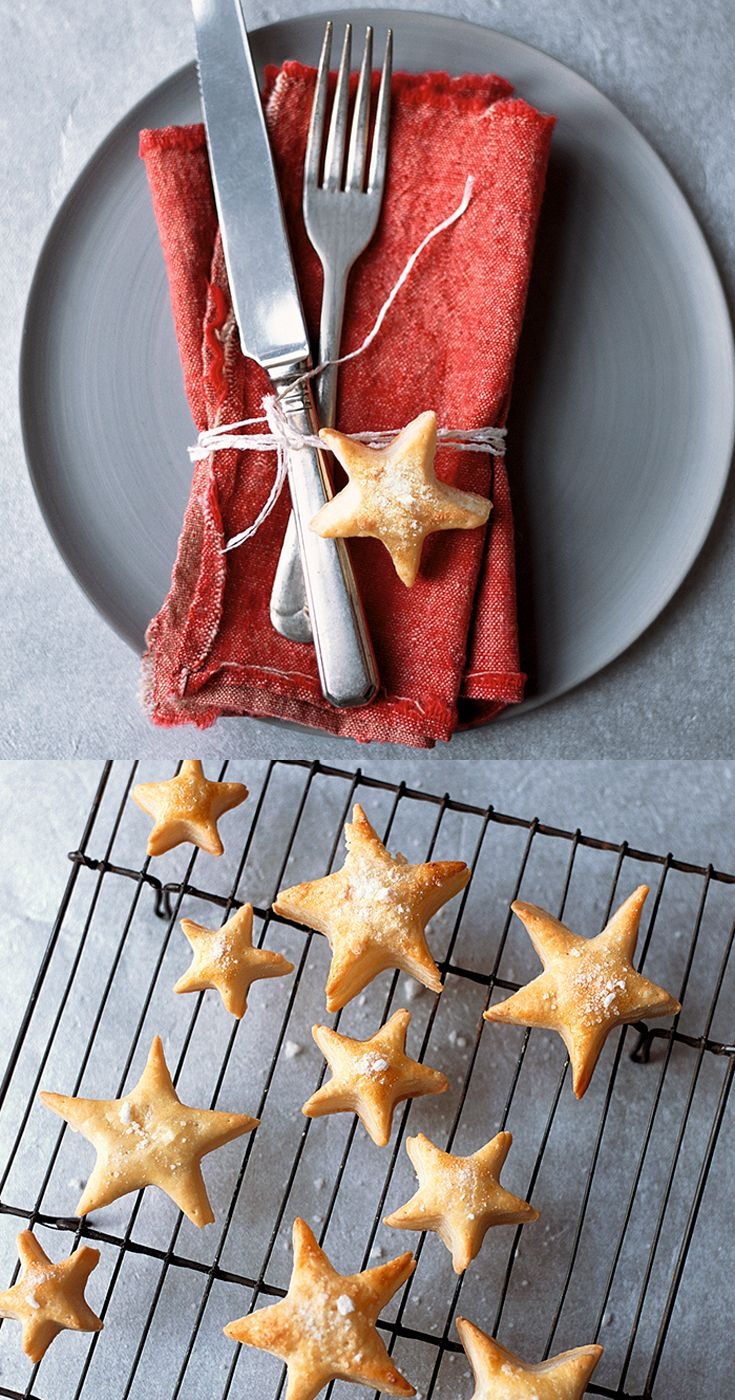 These sweet star puffs make great little table gifts for the family this Christmas. Get the recipe on the Waitrose website.