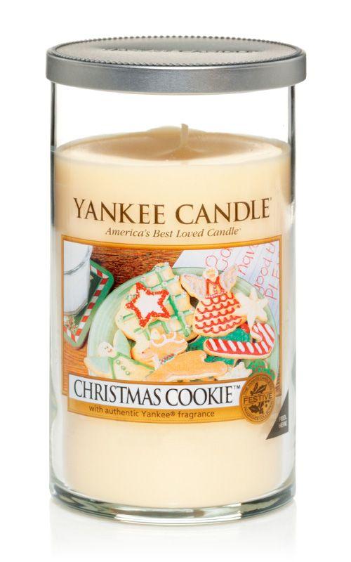 Yankee Candle – vonná svíčka Christmas Cookie, Décor, střední