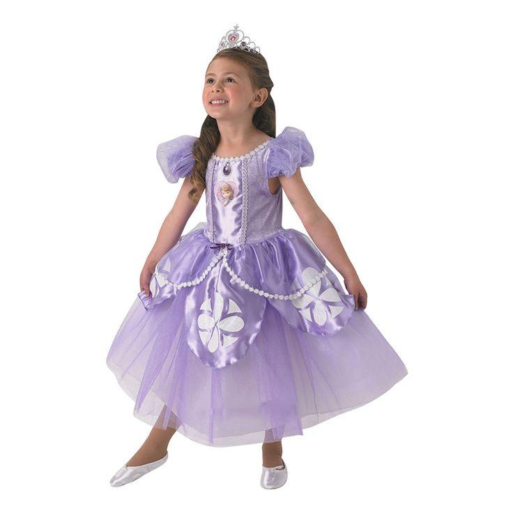 Køp Sofia Barn Deluxe Kostyme til bra pris online. vi har Nordens største utvalg med lynraske leveringer! Velkommen in og gjør ett godt kjøp, vi...