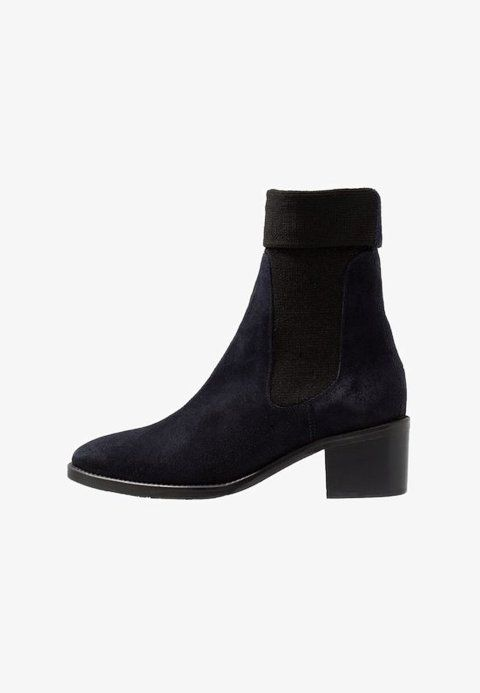 Spring Boots Sock amp; Classic Blue Winter Ankle Bootie Autumn qqAHxt8w