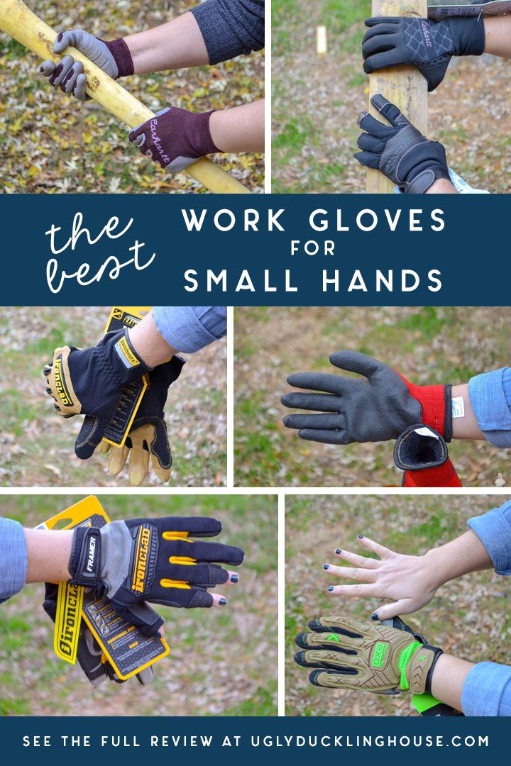 A Full Review Of The Best Work Gloves For Small Hands! Shopping At Home  Depot, Loweu0027s, And Popular Brands Online, I Compare And Contrast The Fit Of  Every ...