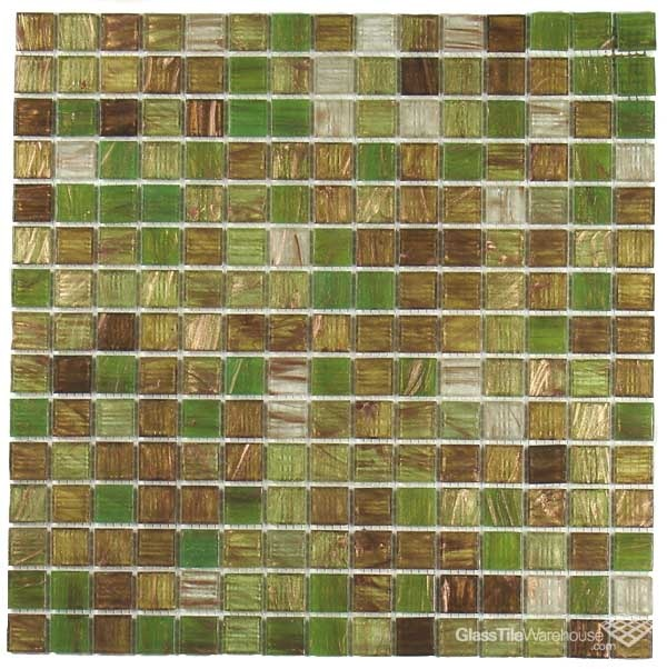 Green Apple Brown Copper Glass Tile S For Kitchen Also Gonna Do