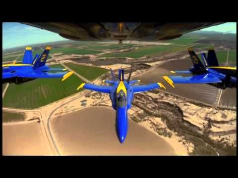 The Blue Angels - Set to Van Halen's Dreams