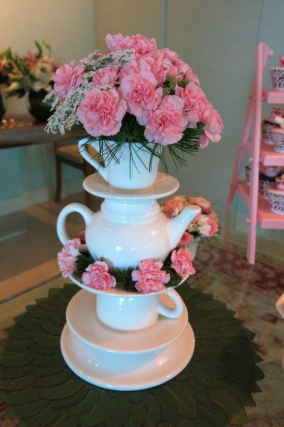 Ideias para decorar o chá - Madrinhas de casamento