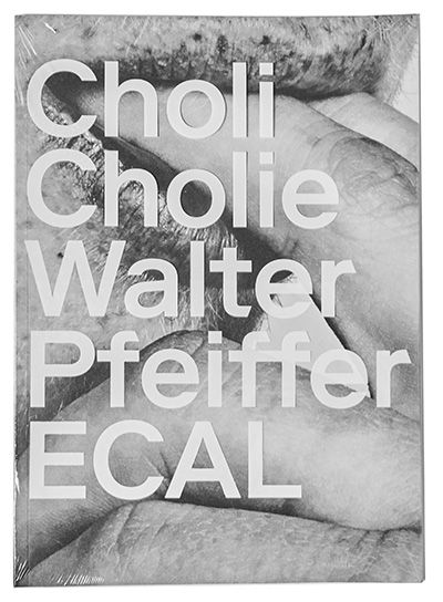 CHOLI CHOLIE - Walter Pfeiffer / écal Instinctive, spontaneous and unclassifiable, Walter Pfeiffer's images are an anthem to youthfulness, and not only that of the mind. This may explain why, in spite of a monopolizing international success, he accepted ECAL's invitation to run the 2014/15 Workshop, and enjoyed sharing his experience with the emerging photographers of the Lausanne school.... http://www.rvb-books.com/book.php?id_book=107 *distribution with twelvebooks to japan. come out soon.