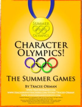 Character Summer Olympics: A timely activity to use with any piece of reading literature or for any historical figure.Students will analyze cha...