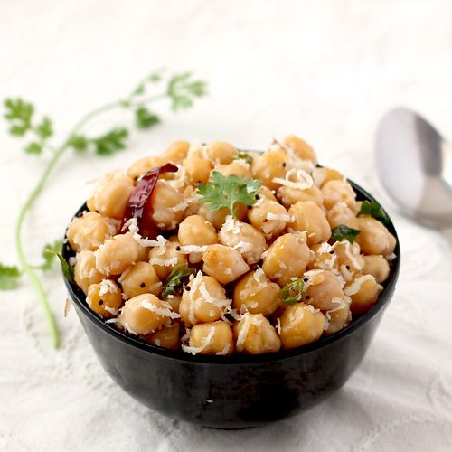 Channa Sundal - Navratri Special South Indian Food