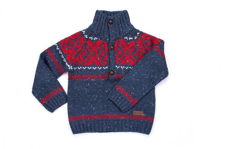 Suéter lana Jaquard línea Forest