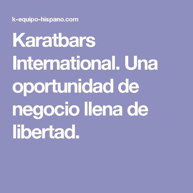 Karatbars International. Una oportunidad de negocio llena de libertad.