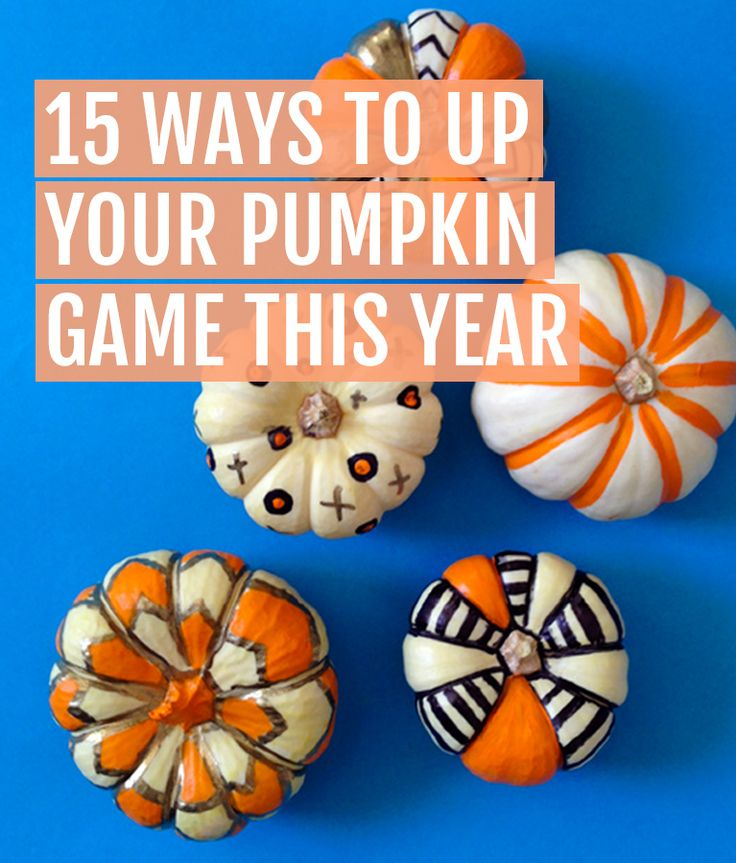 15 Ways to Up Your Pumpkin Game This Year